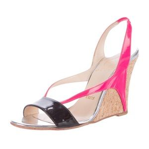 Christian Louboutin Yasmine Wedge Sandals